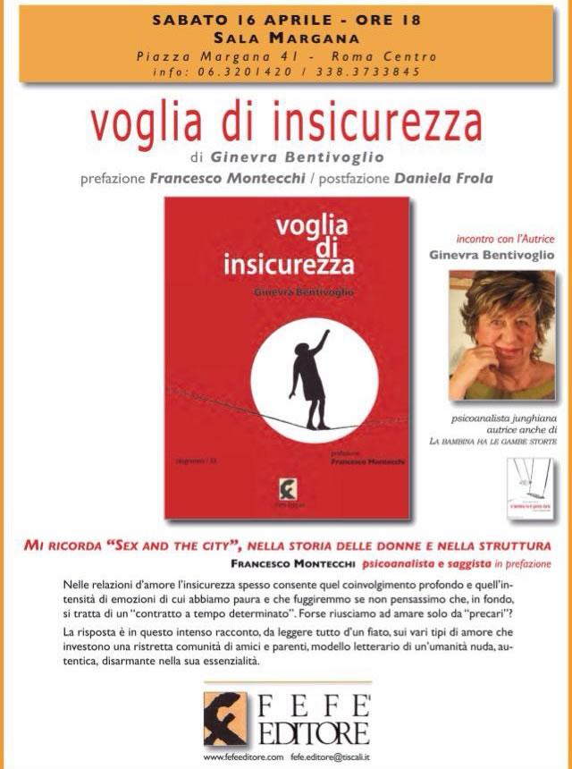 """Presentazione del libro """"Voglia di Insicurezza"""""""